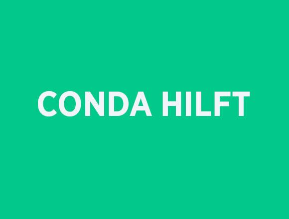 CONDA HILFT - eine Initiative für Corona-betroffene Unternehmen